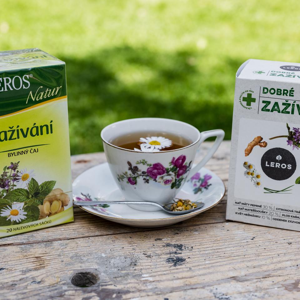 Bylinné čaje v novom