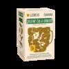 Čaj obsahuje antioxidanty, prispieva k normálnej funkcii cievnej sústavy a podporuje sústredenie.