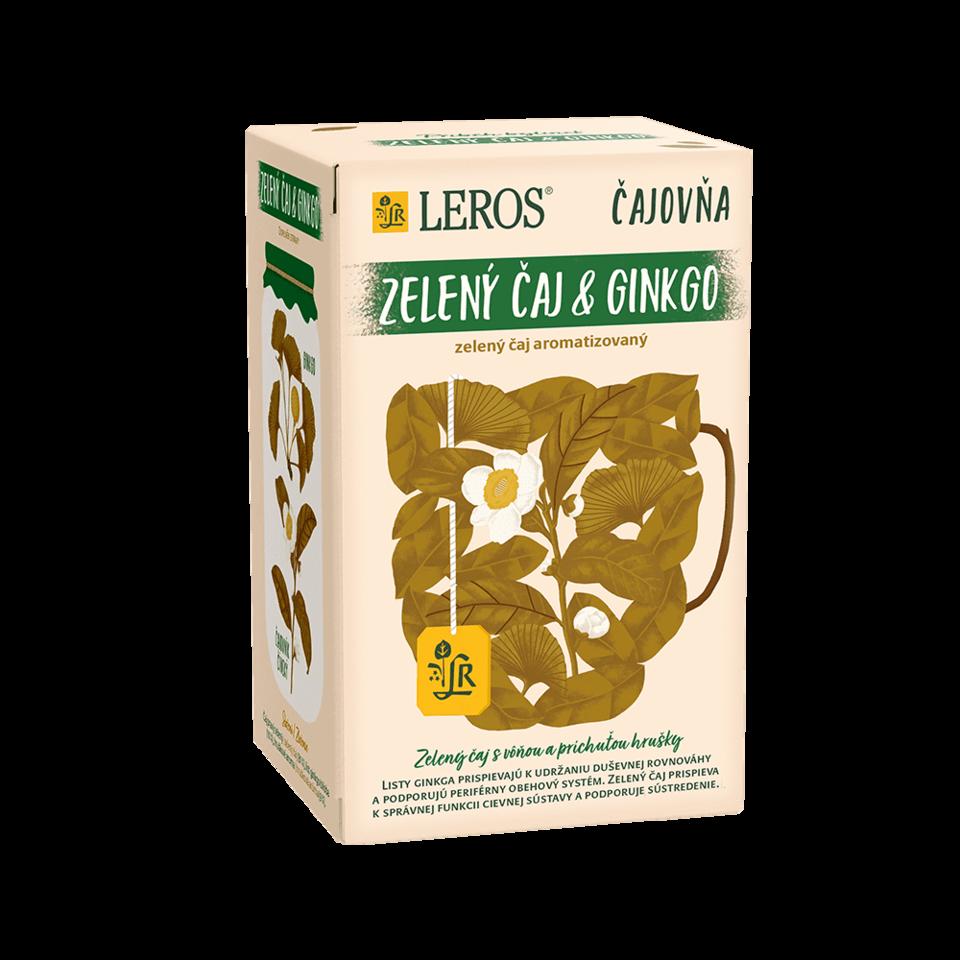 Obrázek 1 produktu Zelený čaj & ginkgo
