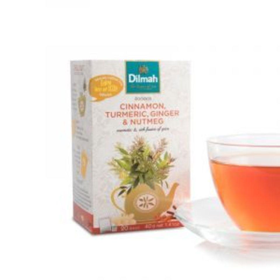 Aromatický a lahodný bylinný čaj dochucený karamelem a kořením ze Srí Lanky. Nápoj tmavě jantarové barvy voní po karamelu sdozvukem jemného pepře, skořice a zázvoru.