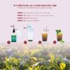 Čajový výtažek zeleného čaje a jasmínu. Svěžest čerstvých lístků zeleného čaje a omamná, květinová vůně jasmínového květu je tradiční kombinace přinášející uvolnění i zmírnění neklidu. Díky unikátní výrobní technologii zůstávají v čajovém koncentrátu uchovány přirozené antioxidanty, které zelený čaj obsahuje ve vysokém množství.