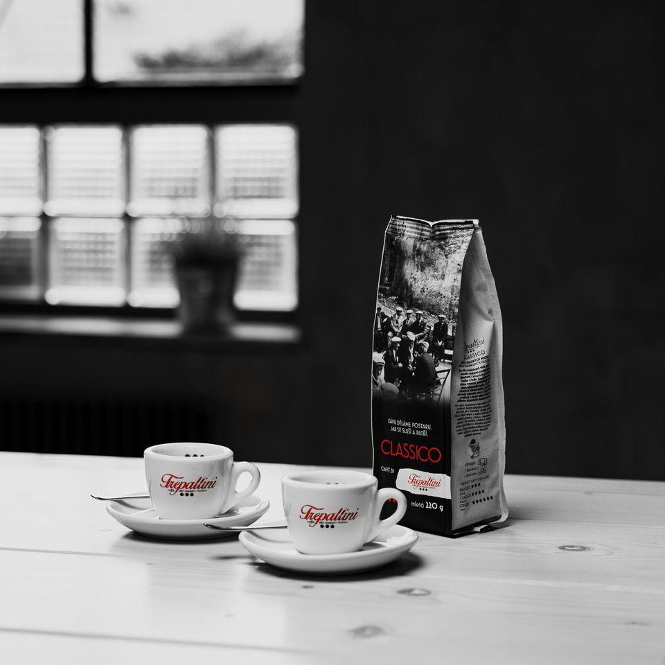 Obrázok 1 produktu TREPALLINI CLASSICO káva mletá 220 g