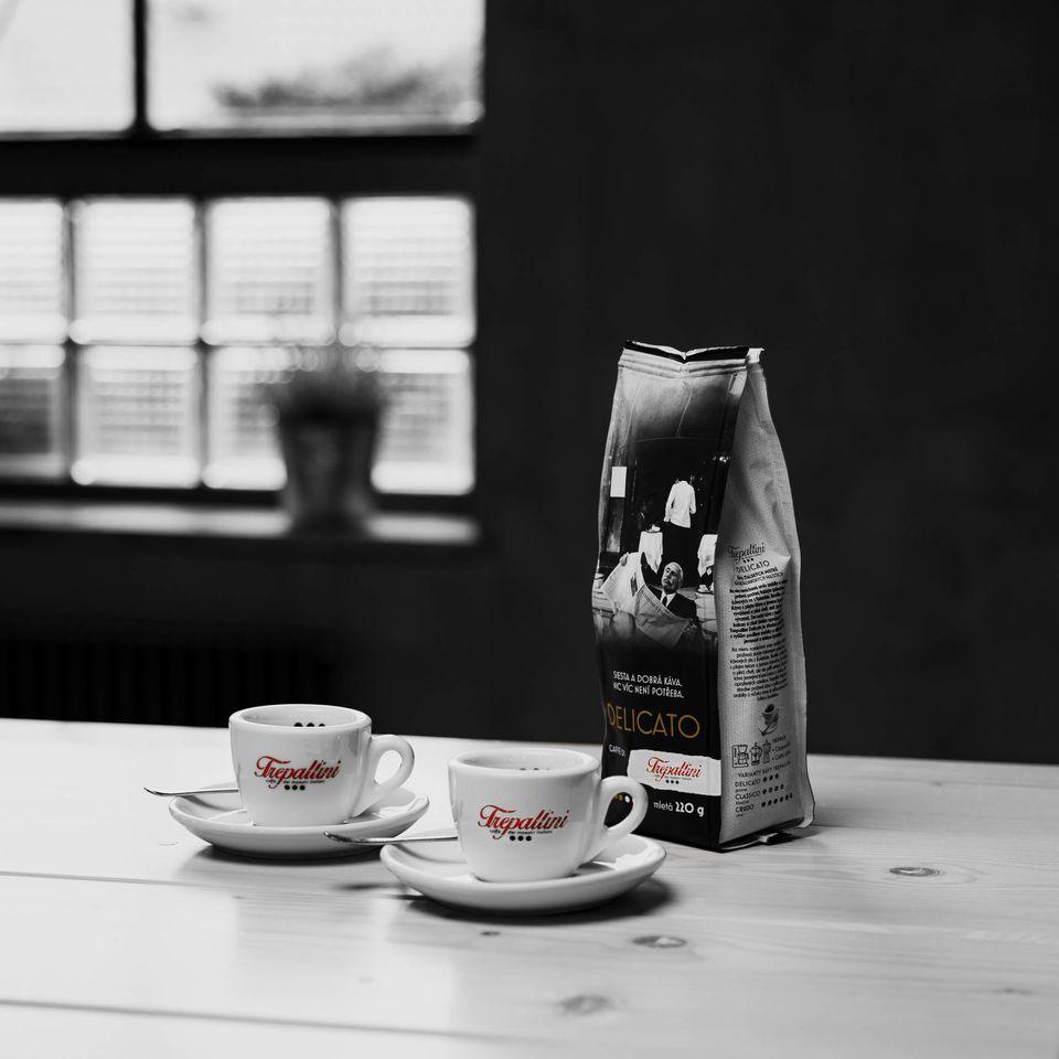 Obrázok 1 produktu TREPALLINI DELICATO káva mletá 220 g