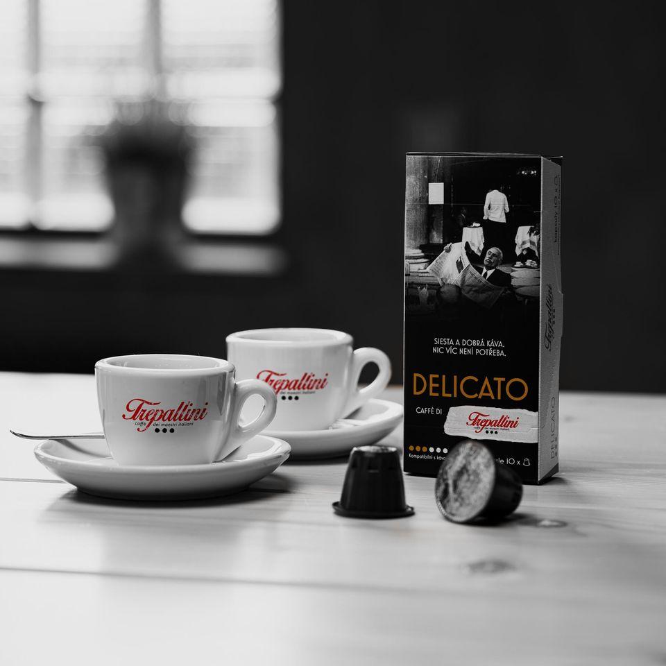 Obrázok 1 produktu TREPALLINI DELICATO kapsuly pre kávovary Nespresso 10 ks