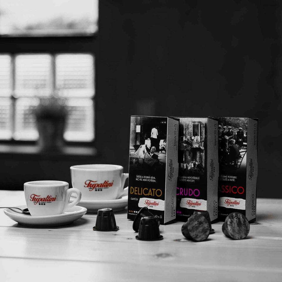 Obrázok 2 produktu TREPALLINI DELICATO kapsuly pre kávovary Nespresso 10 ks