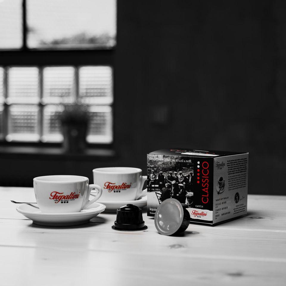 Obrázek 1 produktu TREPALLINI CLASSICO kapsle pro kávovary Dolce Gusto 12 ks