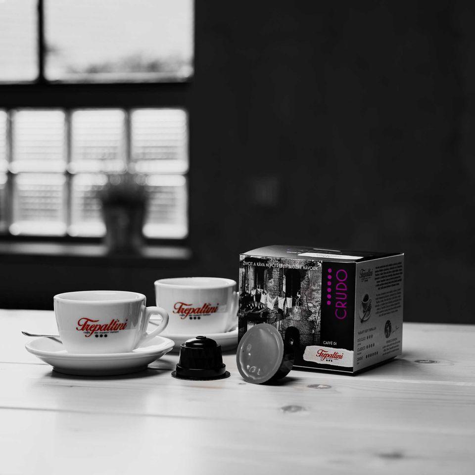 Obrázok 1 produktu TREPALLINI CRUDO kapsuly pre kávovary Dolce Gusto 12 ks