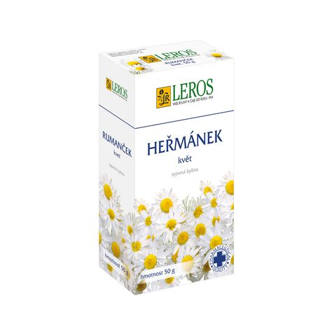 Obrázek produktu Heřmánek farmaceutické kvality sypaný