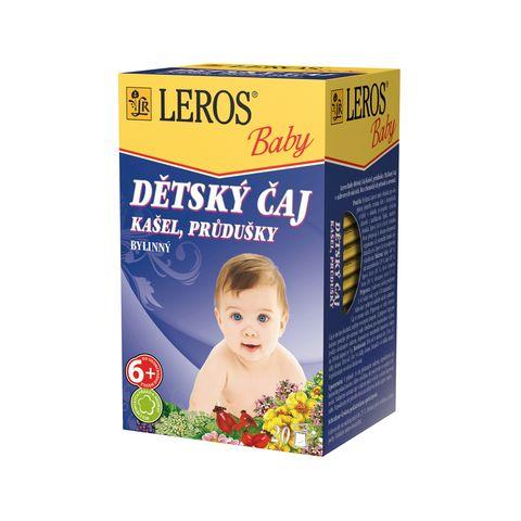 Obrázok produktu Detský čaj na kašeľ a priedušky