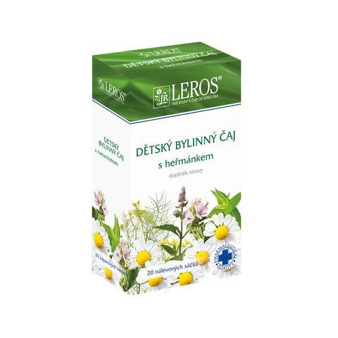 Obrázok produktu Detský bylinný čaj s rumančekom