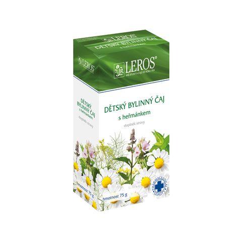 Obrázek produktu Dětský bylinný čaj s heřmánkem farmaceutické kvality sypaný