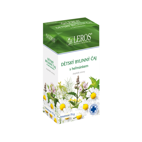Obrázok produktu Detský bylinný čaj s rumančekom sypaný