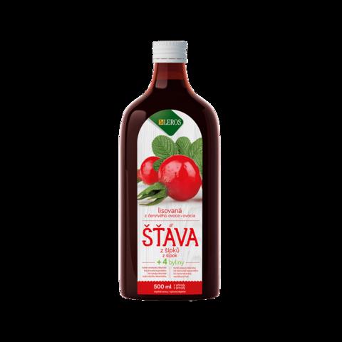 Obrázok produktu 100 % šťava šípka + 4 byliny