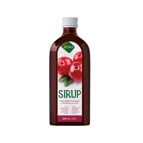 Obrázek produktu Sirup brusinka