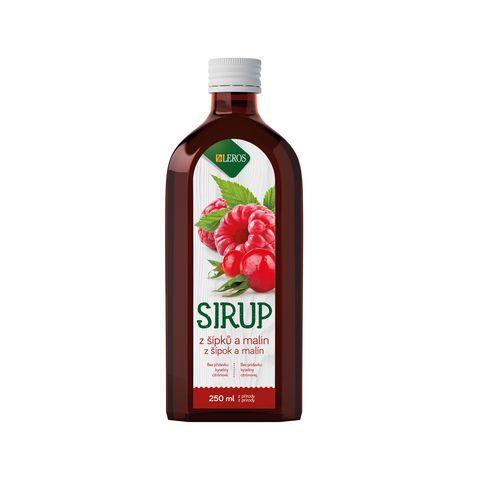 Obrázek produktu Sirup Šípek a Malina