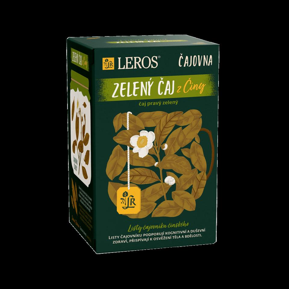 LEROS Zelený čaj z Číny