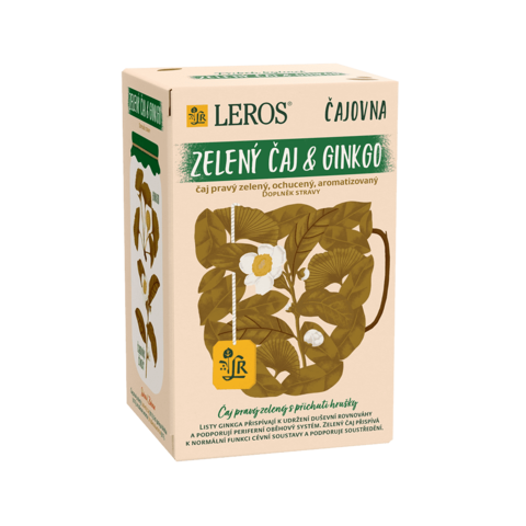 Obrázok produktu Zelený čaj & ginkgo