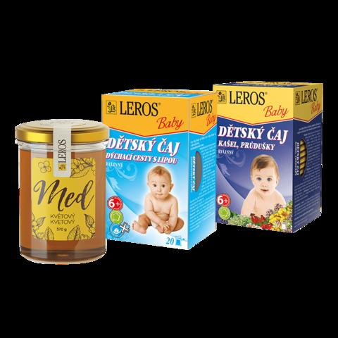 Obrázok produktu Detský bylinkový balíček na zimné neduhy