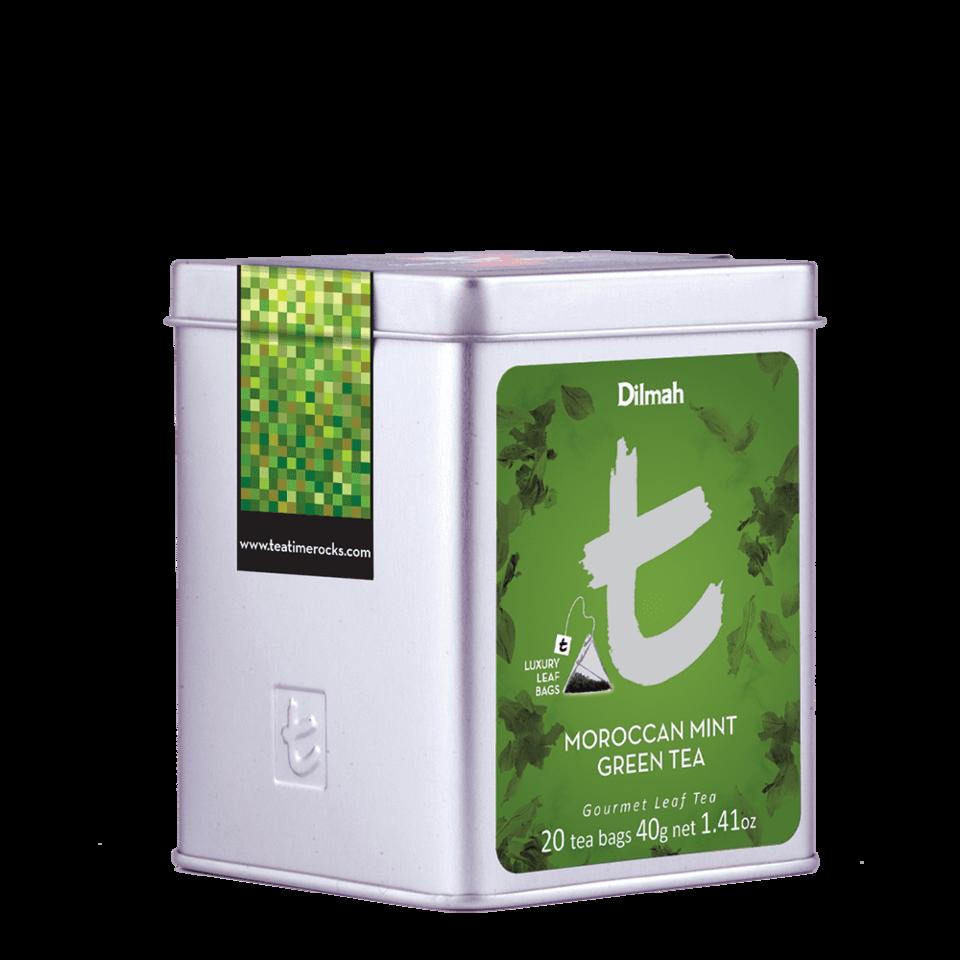 DILMAH Dilmah Moroccan Mint Green Tea