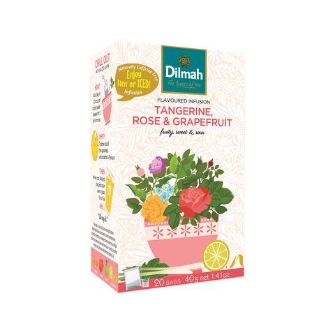 Obrázek produktu Dilmah tangerine, rose & grapefruit