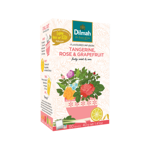 Obrázok produktu Dilmah Mandarínka, Ruža a Grep