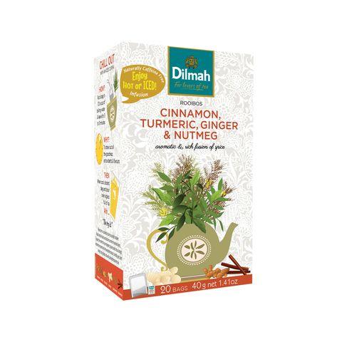 Obrázek produktu Dilmah cinnamon, turmeric, ginger & nutmeg