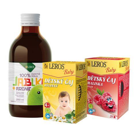 Obrázok produktu Detský balíček so 100 % šťavou a čajmi