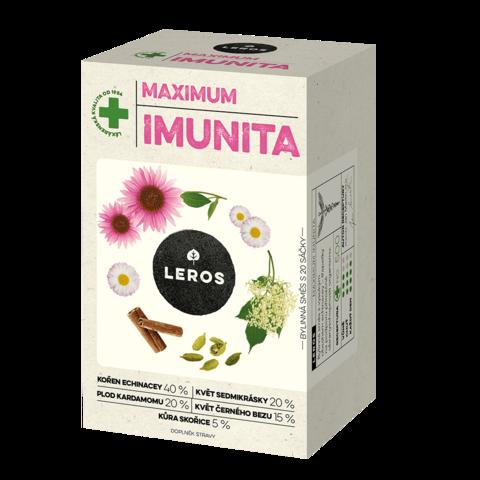 LEROS IMUNITA MAX, Echinacea & Sedmokráska