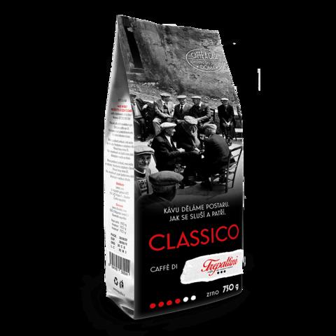 Obrázok produktu TREPALLINI CLASSICO káva zrnková 750 g
