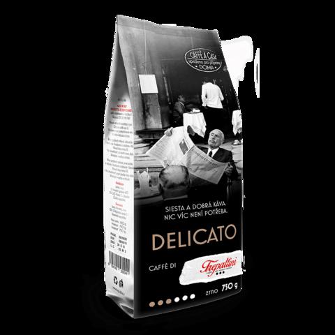 TREPALLINI TREPALLINI DELICATO káva zrnková 750 g
