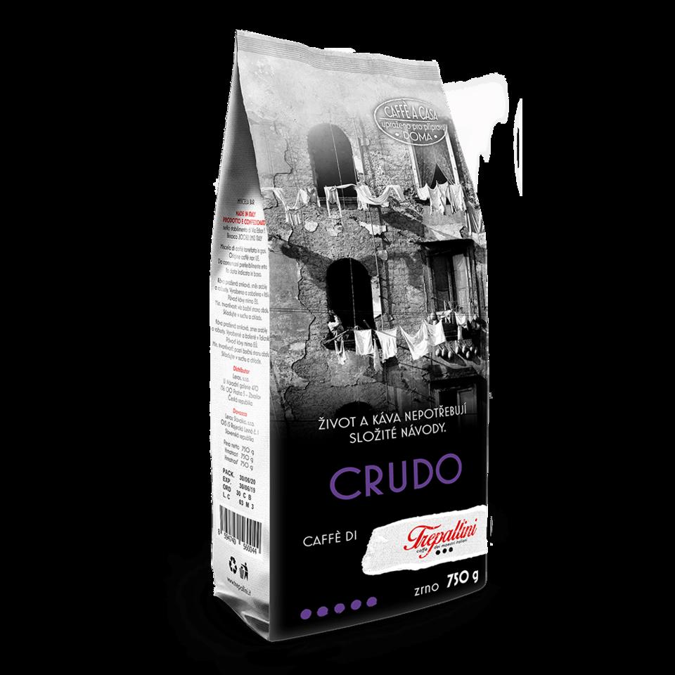 TREPALLINI TREPALLINI CRUDO káva zrnková 750 g