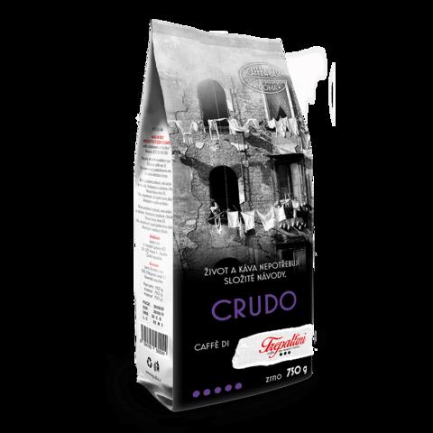 Obrázok produktu TREPALLINI CRUDO káva zrnková 750 g