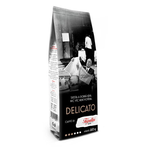 TREPALLINI TREPALLINI DELICATO káva mletá 220 g