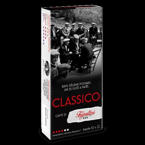 TREPALLINI TREPALLINI CLASSICO kapsle pro kávovary Nespresso 10 ks