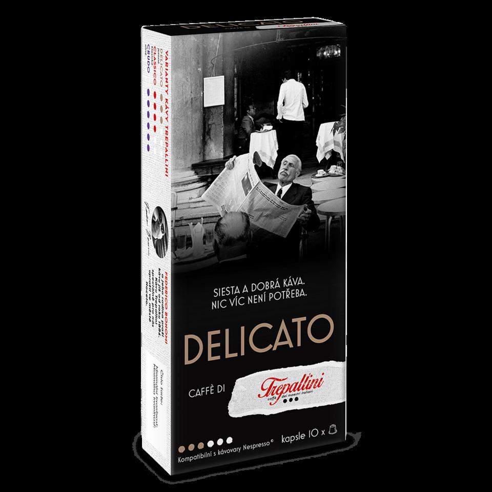 TREPALLINI TREPALLINI DELICATO kapsuly pre kávovary Nespresso 10 ks
