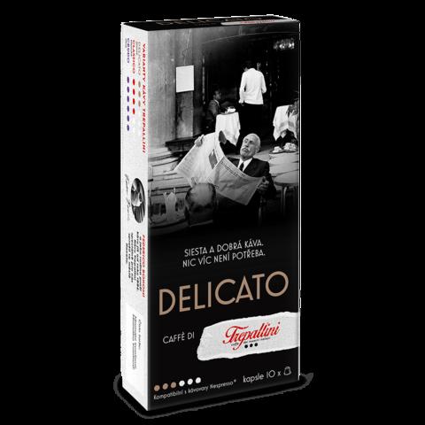 TREPALLINI TREPALLINI DELICATO kapsle pro kávovary Nespresso 10 ks